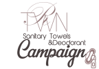 RTWN Sanitary Towels & Deodorants Campaign Mobile Logo